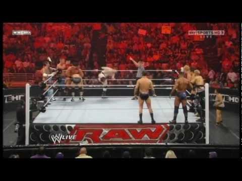 Raw Supershow 12 Man Tag Team Team Cena Vs Team