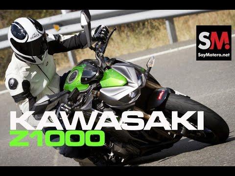 Prueba Kawasaki Z1000 SE 2014