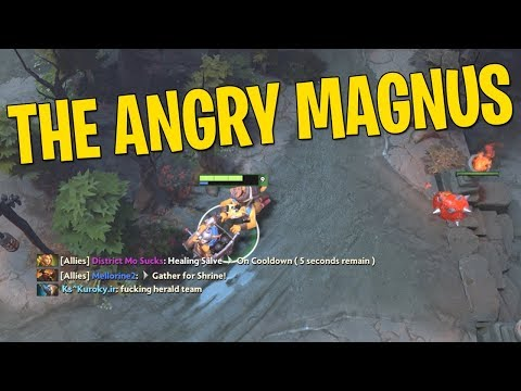 The Angry Magnus - DotA 2 Techies Full Match