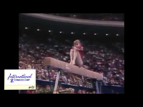 International Gymnastic Camp's #Flashback Friday - Shannon Miller
