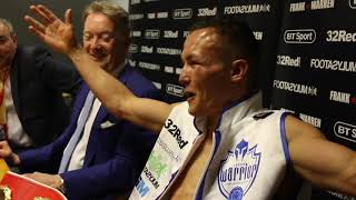 LEE SELBY v JOSH WARRINGTON - *FULL & UNCUT*  POST FIGHT PRESS CONFERENCE (WITH FRANK WARREN)