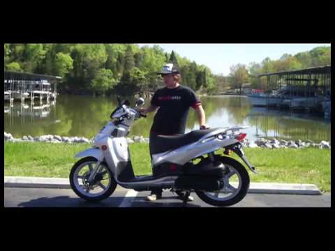 2009 SYM HD200 Scooter Review