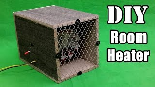 How to Make a Room Heater at Home - DIY Tutorials
