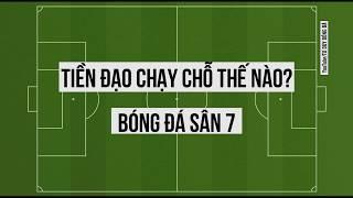 Tiền đạo chạy chỗ - Tư duy bóng đá sân 7