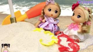 Thơ Nguyễn - Búp bê chơi cát ở resort cực vui