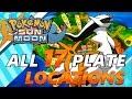 Pokémon Sun and Moon: Where to find All 17 Arceus Plates | Location Walkthrough