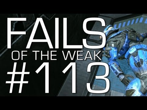 Halo: Reach - Fails of the Weak Volume 113! (Funny Halo Bloopers and Screw-Ups!)