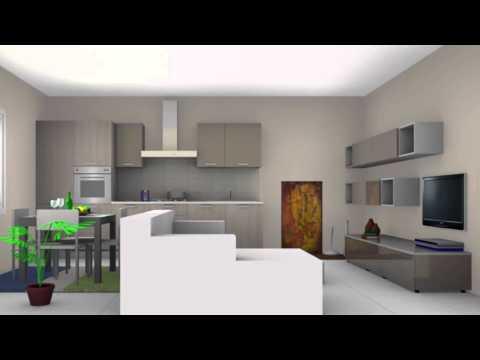 progetto cucina + zona living – DEMARTINI MOBILI
