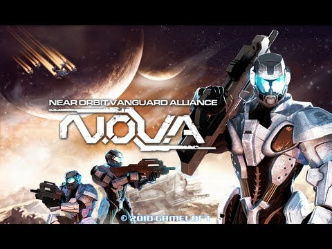N.O.V.A. for Android gameplay+download