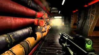 Quake 4 with narration part 1 - Air Defense Bunker - Walkthrough