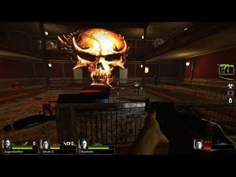 Left 4 Dead 2 - Haunted Forest Custom Campaign Multiplayer Gameplay Playthrough