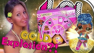LOL SURPRISE CONFETTI POP Goldkugeln?! 🤷‍ Display 👭 L.O.L. FIGUREN auspacken | Teil 4 deutsch