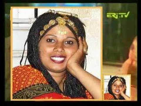 """Eritrea - Zereabrukh Kidane sings """"Shamgra e"""
