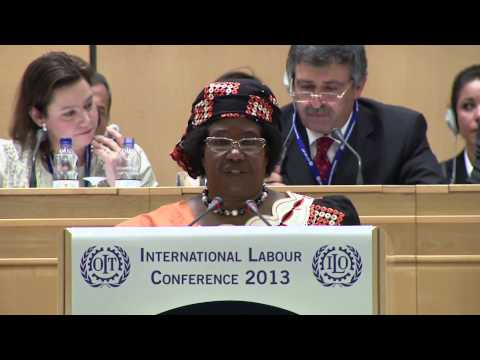 Malawi is committed to combat child labour, says H.E. Mrs Joyce Banda