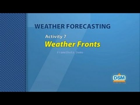 Weather Forecasting - Activity 7: Weather Fronts