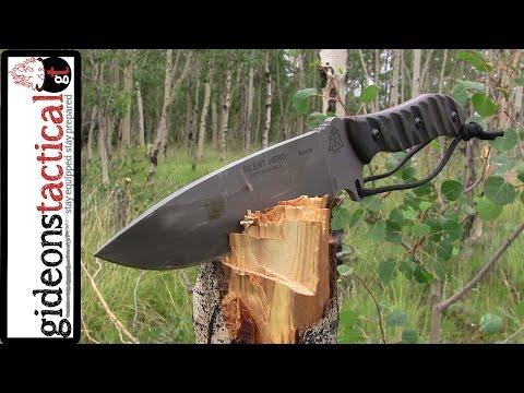 Tops Knives Silent Hero: Best Survival Knife Of 2014? video