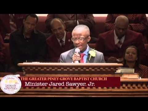 """Living An Anointed Life"" 15yo Pastor Jared Sawyer Jr."