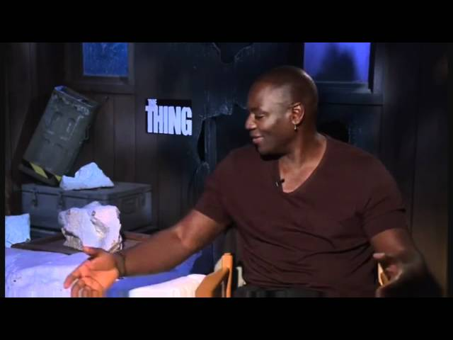 The Thing Prequel - Interview Mary Elizabeth Winstead, Eric C Olsen &amp; Adewale Akinnuoye-Agbaje