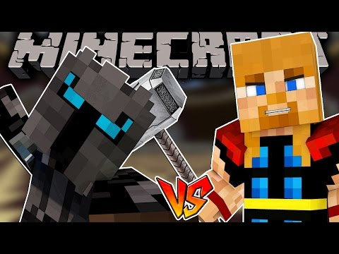 POPULARMMOS w/ Markiplier VS THOR MINEAVENGERS!! | Minecraft Story Mode