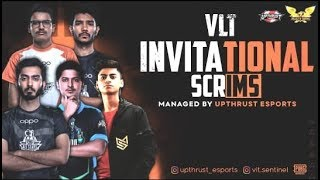 VLT INVITATIONAL SCRIMS DAY 4 | FEAT:- SOUL,IND,OR,GODL,SGE | MANAGED BY UPTHRUST ESPORTS