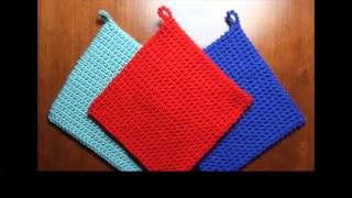 easy crochet potholder