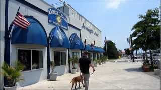 City of Rehoboth Beach, Delaware - Short Video Tour, USA - July 2012