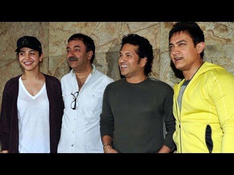 Aamir Khan Hosts Special Screening Of Pk For Sachin Tendulkar