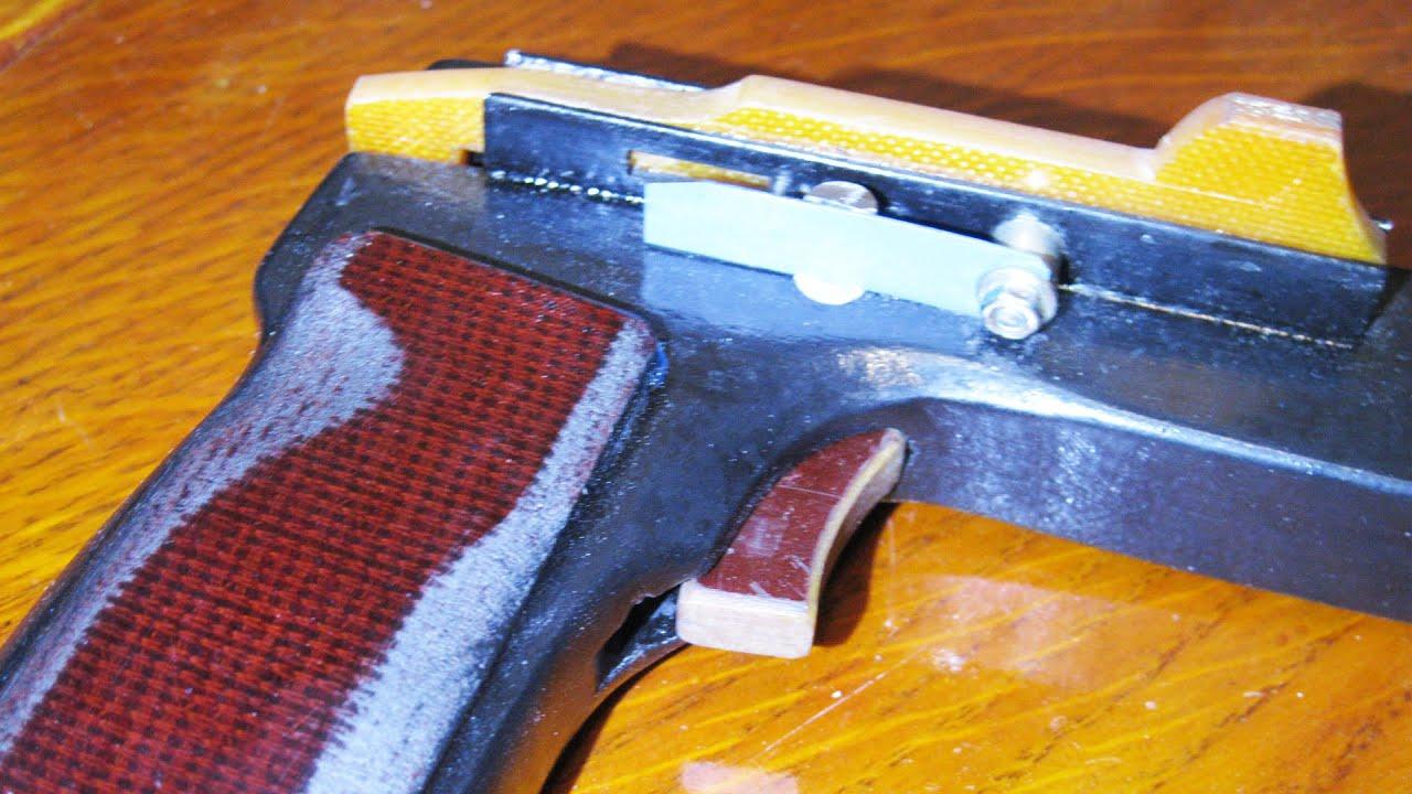 Скорострельное пневматическое ружьё своими руками 69