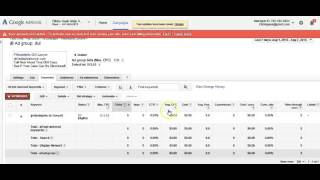Adwords - Creating Your 1st Campaign - Video 2