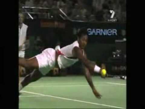 Leander Paes - Slow Motion Dive Volley