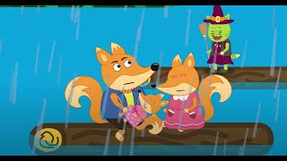Fox Family and Friends new funny cartoon for Kids Full Episode #294
