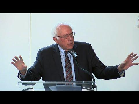 Sen. Sanders Highlights Wealth Inequality in US