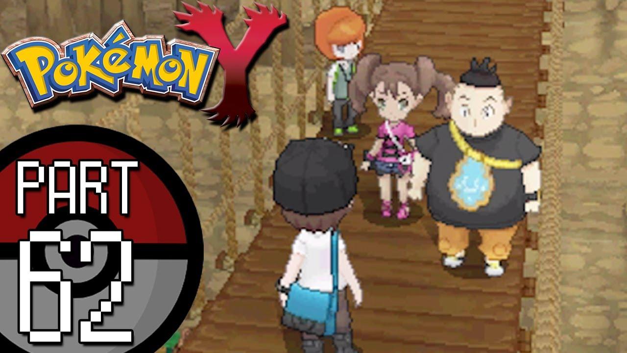 Pokemon X - Beginning & Vs Shauna - YouTube