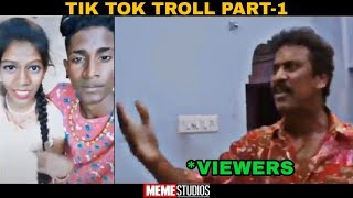 Tik Tok Troll Part-1|Ms|Meme Studios|Re-upload| #Tiktoktroll #tiktok #musically #Dubsmash