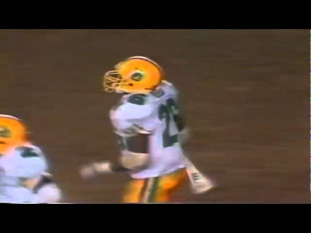 Oregon CB Daryl Reed knocks away a deep pass vs. San Diego St 10-01-1988