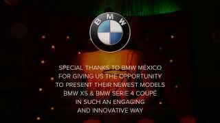 Videomapping Monterrey - Presentation of BMW X5 & Serie 4 Coupé 2014