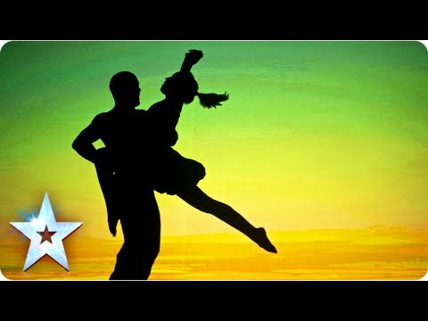 Attraction's semi-final shadow theatre performance | Semi-Final 5 | Britain's Got Talent 2013 - Attr