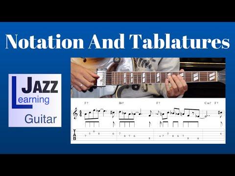 Jazz Guitar Lesson #1 - Progression #1 (Blues In F) - Improvisation #1