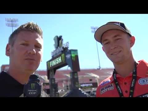 2016 Monster Energy Cup - Blake Baggett Trackwalk Interview