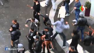 algerians attacking israelis in paris