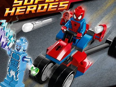 Let's Build - LEGO MARVEL SUPERHEROES SPIDER-TRIKE vs. ELECTRO (Set 76014)