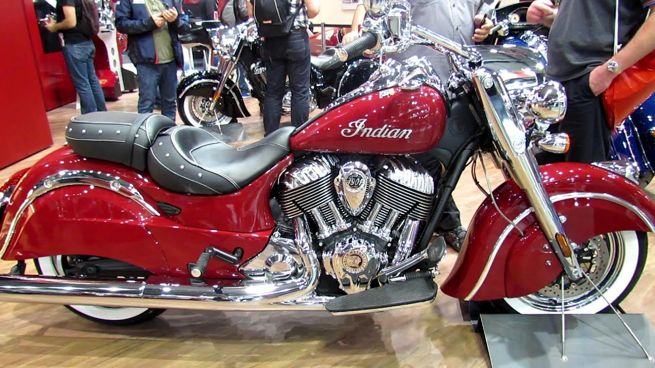 Cars For Sale Los Angeles >> 2014 Indian Motorcycle - Indian Chief Classic - Walkaround 2013 EICMA Milan Motorcycle ...