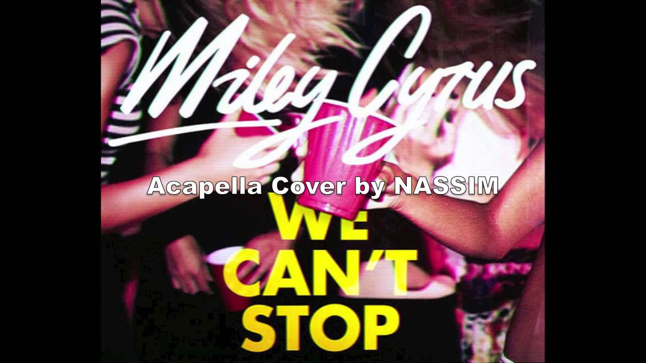 We Cant Stop Single Cover Miley Cyrus   We Can t Stop