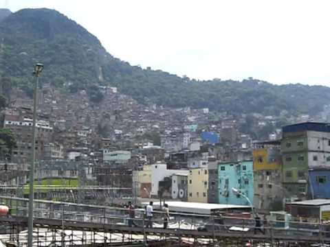 Largest Favela in Latin America: Rocinha in Rio de Janeiro, Brazil