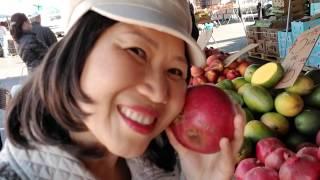 Người Việt ở Mỹ,  đi chợ trời mua trái cây ở San Jose, California