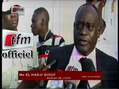 Réaction de Me EL Hadji Diouf après le verdict de Karim Wade