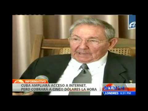 Cuba ampliará la cobertura de Internet gracias a cable de fibra óptica proveniente de Venezuela
