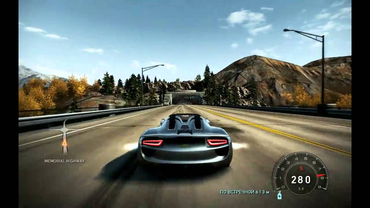 need for speed hot pursuit porsche 918 spyder concept hd pc youtube. Black Bedroom Furniture Sets. Home Design Ideas