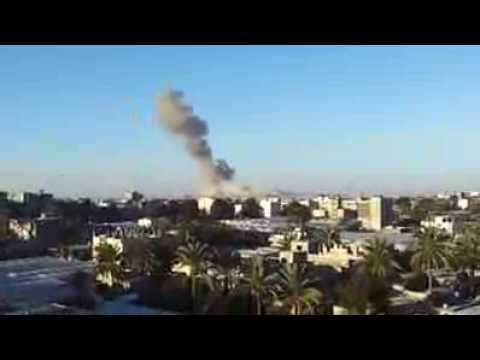 Video: Israeli airstrike hits near Khan Yunis in Gaza Strip