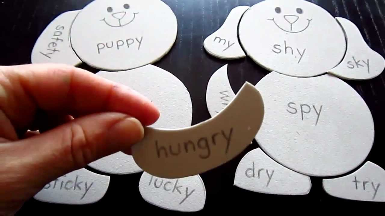 Preschool - Reading-Phonics-Spelling: puppy game to teach ...